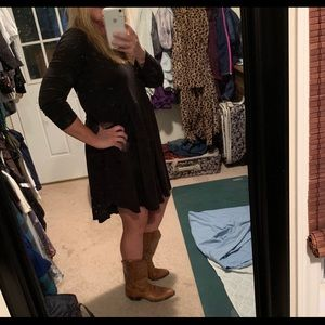 Ariat cowboy boots! Comfy